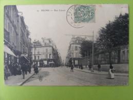 CPA Reims (51) - Rue Carnot - Reims