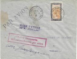 29-10-1936 Tananarive - Ihosy Voyage D'études M. Assollant - Airmail
