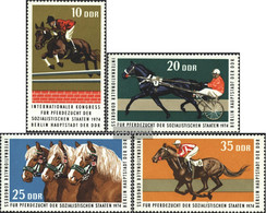 DDR 1969-1972 (complete.issue) Unmounted Mint / Never Hinged 1974 Horse - [6] Democratic Republic