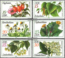 DDR 2287-2292 (complete.issue) Unmounted Mint / Never Hinged 1978 Medicinal Plants - Nuovi