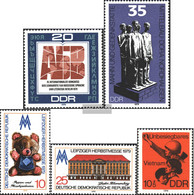 DDR 2444,2451,2452-2453,2463 (complete.issue.) Unmounted Mint / Never Hinged 1979 Special Stamps - [6] Democratic Republic