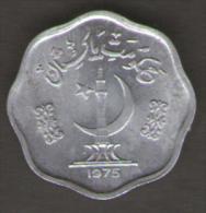 PAKISTAN 2 PAISA 1975 - Pakistan