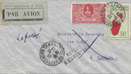 Tananarive - Sambava Par Avion - Airmail