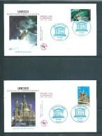 France Premier Jour   Timbres De Service  N°128 Et 129   6/12/ 2003 - Documentos Del Correo
