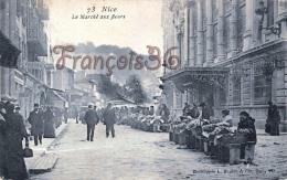 (06) Nice - Le Marché Aux Fleurs - 2 SCANS - Markten, Feesten
