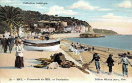 (06) Nice - Promenade Du Midi, Les Ponchettes - 2 SCANS - Non Classés