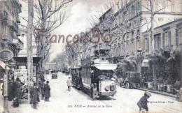 (06) Nice - Avenue De La Gare - Tram Tramway - 2 SCANS - Unclassified