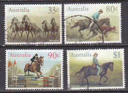 PGL CN489 - AUSTRALIE AUSTRALIA Yv N°944/47 - 1980-89 Elizabeth II