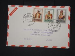 ST THOMAS ET PRINCE-Enveloppe( Devant) Pour La France Pub Médicale  De Dieppe En 1957  A Voir  Lot P 6410 - St. Thomas & Prince