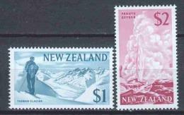 New Zealand 1967 Mi 473-474 MH - Unused Stamps