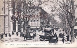 (06) Nice - Avenue De La Victoire - Tram Tramway - Calèches Voitures Automobiles Taxis - 2 SCANS - Nice