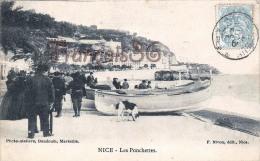(06) Nice - Les Ponchettes Et Le Quai Du Midi - 2 SCANS - Non Classés