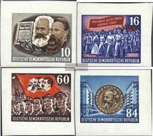 DDR 392B-395B Block Individual Brands Ungezähnt Unmounted Mint / Never Hinged 1953 Karl-Marx-Year - Nuevos