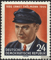 DDR 432 (complete Issue) Unmounted Mint / Never Hinged 1954 10.Death Of Thälmann - Nuovi