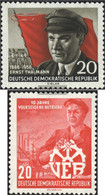 DDR 520A,527 (complete Issue) Unmounted Mint / Never Hinged 1956 Thälmann, 10 Years VEB - Nuovi