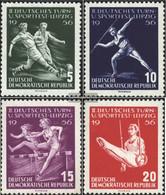 DDR 530-533 (complete.issue.) Unmounted Mint / Never Hinged 1956 German Gymnastics- And Sports Festival - [6] République Démocratique
