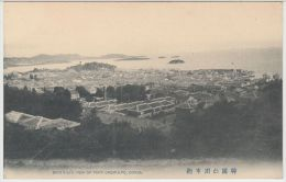 25299g COREE Du SUD - COREA - Bird's-eye View Of Port Chemulpo - Corée Du Sud