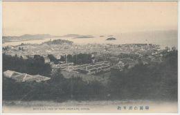 25299g COREE Du SUD - COREA - Bird's-eye View Of Port Chemulpo - Korea (Zuid)