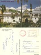 EQUADOR  QUITO  Catedral Metropolitana  EMA Stamp - Ecuador