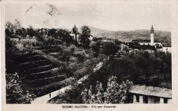 BEDERO VALCUVIA - VIA PER CUNARDO. GELAUFEN V. VARESE 29.3.47 N. LA CHAUX DE FONDS. Zu. 733 - Varese