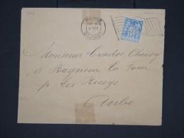 FRANCE-Oblitération De Paris Drapeau Sur Enveloppe Aff Type Sage    à  Voir  Lot P 6419 - Mechanical Postmarks (Advertisement)