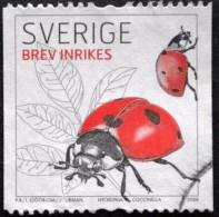 Sweden 2008  Insects Insekten Coccinella Mariquita Coccinelle Ladybug  Minr.2626  ( Lot B 1300) - Usati