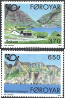 Denmark - Faroe Islands 219-220 (complete Issue) Unmounted Mint / Never Hinged 1991 NORTH `91 - Féroé (Iles)