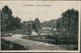 Partie Im Volksgarten Um 1910   Feldpostkarte WW I  1.10.17 - Mönchengladbach