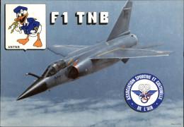 AVIATION  MILITAIRE - AVION - F1 TNB - Walt Disney - 1946-....: Era Moderna