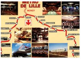 (616) Map - Metro De Lille - Lille Underground - Maps