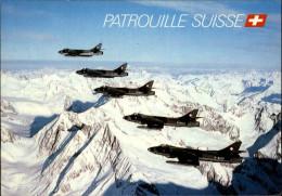 AVIATION  MILITAIRE - AVION - PATROUILLE SUISSE - 1946-....: Ere Moderne