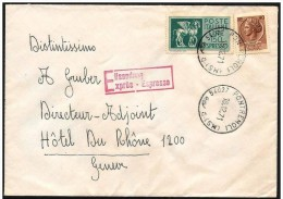 Italia/Italy/Italie: Lettera Espresso, Express Letter, Lettre Express - 6. 1946-.. Republic