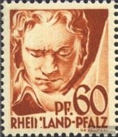 Franz. Zone-Rheinland Palatine 12I, Mutilated N In Rheinland (Field 26) Unmounted Mint / Never Hinged 1947 Postage Stamp - Zone Française