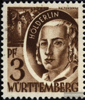 Franz. Zone-Württemberg 2III Pf Without Point (Field 26) Unmounted Mint / Never Hinged 1947 Postage Stamp - French Zone