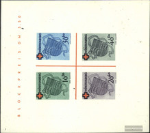Franz. Zone-Württemberg Block1i (complete.issue.) Unused 1949 Red Cross - French Zone
