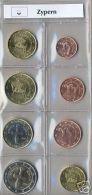 Zypern Komplett Alle 8 Münzen - Jahrgang 2008 - Cyprus