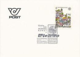 Österreich - Hundertwasser - Sonderstempel - 1990 - Art