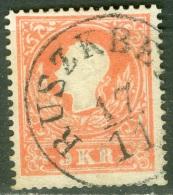Autriche   Yvert  8  Ou Michel 13 I   Ob  TB   Ruszkberg Roumanie - Usati