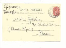 RUSSIE RUSSIA : No 41 Sur Carte Postale - 1857-1916 Imperium