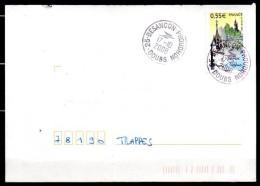 MP25-03: Dept 25 (Doubs) BESANCON PROUDHON 2008 > Cachet Type A9 Logo POSTE - Marcophilie (Lettres)