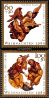 FRD (FR.Germany) 1442-1443 (complete.issue) Unmounted Mint / Never Hinged 1989 Christmas - Ungebraucht