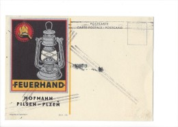 12537 - Pilzen Plzen Hofmann Feuerhand Voir Cachet - Tchéquie