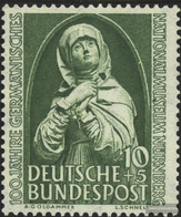 FRD (FR.Germany) 151 (complete Issue) Unmounted Mint / Never Hinged 1952 Nuremberg Madonna - Unused Stamps