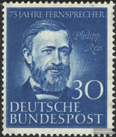 FRD (FR.Germany) 161 (complete Issue) Unmounted Mint / Never Hinged 1952 Philipp Rice - Unused Stamps
