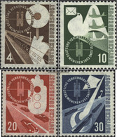 FRD (FR.Germany) 167-170 (complete Issue) Unmounted Mint / Never Hinged 1953 Transport Exhibition - [7] Federal Republic