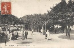 ROYAN - 17 -   La Promenade Botton - CPA TRES ANIMEE - ENCH175 - - Royan