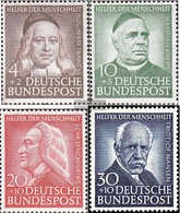 FRD (FR.Germany) Mi.-number.: 173-176 (complete Issue) Unmounted Mint / Never Hinged 1953 Welfare - Unused Stamps