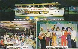 Florida Fort Lauderdale Jungle Queen II River Cruise Restaurant