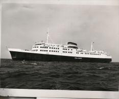 "Photo Bateau Navire "" Prins Henrik 1973 Nakskov ""   Mer ...Danemark   Ship Marine Marchande - Schiffe"