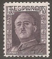 1946-ED. 1001 GENERAL FRANCO DENTADO GRUESO-NUEVO SIN FIJASELLOS - 1931-50 Nuovi